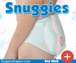 Snuggies Adult Baby Diapers