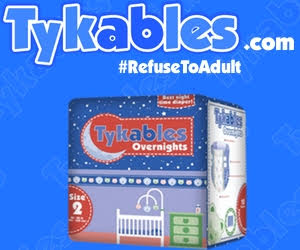 Tykables Adult Baby Diapers